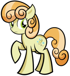 Size: 3006x3246 | Tagged: safe, artist:reconprobe, junebug, pony, female, mare, raised hoof, simple background, solo, transparent background