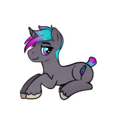 Size: 1300x1300 | Tagged: safe, artist:dragk, oc, oc only, oc:dragk, pony, unicorn, 2018 community collab, derpibooru community collaboration, cutie mark, male, simple background, solo, transparent background