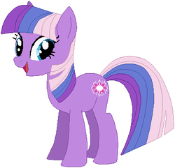 Size: 386x372 | Tagged: safe, artist:kinnichi, artist:selenaede, artist:user15432, twilight sparkle, twilight twinkle, earth pony, pony, base used, cutie mark, g3, g3 to g4, g4, generation leap, my little pony, simple background, white background