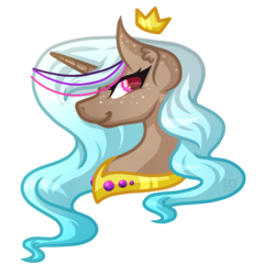 Size: 1961x2041   Tagged: safe, artist:amazing-artsong, oc, oc only, oc:gentle beach, pony, bust, jewelry, portrait, regalia, simple background, solo, transparent background