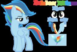 Size: 2436x1656 | Tagged: safe, artist:velveagicsentryyt, oc, oc only, oc:rainbow blitzes, pegasus, pony, female, mare, not rainbow dash, offspring, parent:rainbow dash, parent:soarin', parents:soarindash, reference sheet, simple background, solo, transparent background