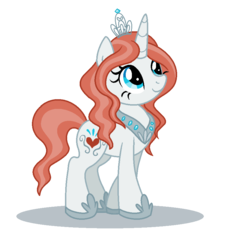 Size: 832x902   Tagged: safe, artist:lieutenantkyohei, oc, oc only, oc:cherie couronne, pony, unicorn, crown, female, jewelry, mare, regalia, simple background, solo, transparent background