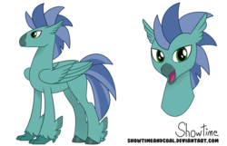 Size: 7236x4661 | Tagged: safe, artist:showtimeandcoal, oc, oc:anchor bay, classical hippogriff, hippogriff, my little pony: the movie, absurd resolution, birb, colt, commission, hippogriff oc, horsebirb, male, movie accurate, reference, reference sheet, simple background, solo, stallion, style, transparent background, ych result