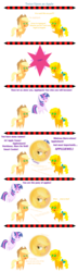 Size: 1000x3480 | Tagged: 35th anniversary, applejack, applejack (g1), artist:sketchmcreations, doctor who, generational ponidox, high res, inkscape, pointy ponies, pony, safe, self paradox, simple background, simple ways, transparent background, treelight sparkle, twice upon a time, vector