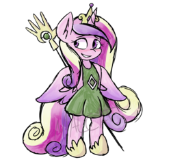 Size: 2988x2838 | Tagged: alicorn, anthro, arms behind back, artist:mal-cat, blushing, cute, cutedance, female, mare, populous, princess cadance, safe, sheepish grin, simple background, solo, transparent background, unguligrade anthro, watermark