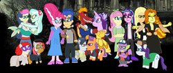 Size: 4032x1712 | Tagged: adagio dazzle, applejack, aria blaze, ariashy, artist:bigpurplemuppet99, babs seed, babstwist, beauty and the beast, bon bon, dazzlejack, dragon, equestria girls, female, flash sentry, flutterblaze, fluttershy, garble, gay, gravity falls, grease, high heels, kissing, lesbian, lyrabon, lyra heartstrings, male, mermaid, phantom of the opera, pinkiesentry, prince eric, princess belle, rarity, rumble, rumbletaps, safe, shipping, shoes, sparity, spike, starlight glimmer, straight, sweetie drops, tender taps, the little mermaid, titanic, total drama, total drama island, twist, winged spike