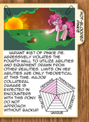 Size: 624x859 | Tagged: artist:mooncustoms, ask, ask pun, chart, hotblooded pinkie pie, pinkie pie, pony, safe, sun