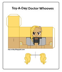 Size: 600x699 | Tagged: artist:grapefruitface1, arts and crafts, craft, doctor whooves, papercraft, printable, safe, thirteenth doctor, time turner, toy a day