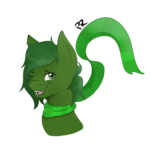 Size: 894x894 | Tagged: safe, artist:pitifulrocks, oc, oc only, oc:hurricane dank, pony, bust, commission, cute, one eye closed, portrait, shading, simple background, solo, transparent background, wink