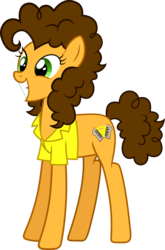 Size: 1321x2000 | Tagged: safe, artist:whalepornoz, cheese sandwich, earth pony, pony, female, grilled cheese (r63), mare, rule 63, simple background, solo, transparent background