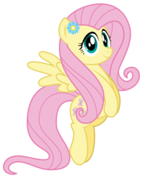 Size: 2486x3109 | Tagged: safe, artist:aleximusprime, fluttershy, pegasus, pony, flurry heart's story, bio in description, cute, female, flower, flower in hair, looking at you, mare, older, older fluttershy, shyabetes, simple background, smiling, solo, spread wings, transparent background, wings