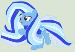 Size: 2240x1560 | Tagged: safe, alternate version, artist:twidashfan1234, trixie, pony, spoiler:g5, alternate hairstyle, alternate universe, g5