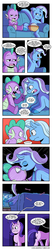Size: 2000x9571 | Tagged: artist:raph13th, bulk biceps, comic, comic:glim glam and pals, couch, dragon, engrish, female, henchmen, implied starburst, implied straight, kissing, looking at each other, male, mare, missing cutie mark, open mouth, pegasus, pony, power ponies, saddle rager, safe, shipping, spike, spixie, stallion, starlight glimmer, straight, television, trixie, unicorn