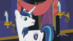 Size: 1920x1080 | Tagged: safe, screencap, shining armor, pony, unicorn, best gift ever, butt, male, out of context, plot, sexy armor, shieldbutt, solo, stallion