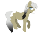 Size: 4977x3916 | Tagged: safe, artist:alviniscute, oc, oc only, oc:keanu, earth pony, pony, simple background, smiling, solo, transparent background