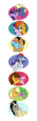 Size: 6250x20065 | Tagged: applejack, applespike, artist:faitheverlasting, bellhop pony, cheesepie, cheese sandwich, discord, discoshy, female, fluttershy, male, pinkie pie, pony, quibbledash, quibble pants, rainbow dash, rarity, safe, shipping, simple background, spike, starburst, starlight glimmer, star tracker, straight, sunburst, transparent background, twilight sparkle, twitracker
