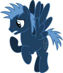 Size: 5157x6000 | Tagged: safe, alternate version, artist:chainchomp2, star hunter, pegasus, pony, wonderbolts academy, absurd resolution, background pony, flying, male, simple background, solo, stallion, transparent background, vector