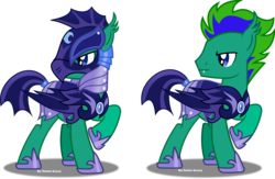 Size: 5398x3513 | Tagged: artist:vector-brony, bat pony, night guard, oc, oc:gale twister, oc only, safe, simple background, transparent background