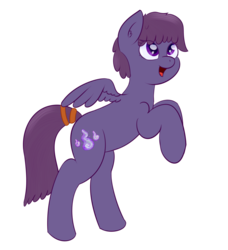 Size: 1201x1318 | Tagged: artist:eyeburn, bipedal, oc, oc only, oc:vee ness, pegasus, pony, safe, simple background, solo, transparent background