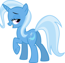 Size: 2310x2231 | Tagged: safe, artist:the smiling pony, trixie, pony, unicorn, butt, female, mare, plot, simple background, solo, transparent background, vector