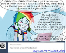 Size: 522x422 | Tagged: safe, artist:manic-the-lad, rainbow dash, equestria girls, a dash of everything, alternate hairstyle, computer, cute, dashabetes, dashblitz, female, implied shipping, laptop computer, male, rainbow blitz, rule 63, self ponidox, selfcest, shipping, solo, straight, tumblr