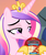 Size: 914x1080   Tagged: safe, edit, edited screencap, screencap, princess cadance, pony, three's a crowd, cadance's pizza delivery, cheap, cheese, cropped, female, food, holding, meat, meme, peetzer, pepperoni, pepperoni pizza, pizza, ponies eating meat, smiling, smirk, smug, solo, that pony sure does love pizza