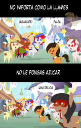 Size: 1280x1998 | Tagged: safe, artist:archooves, oc, oc:camila, oc:chilenia, oc:kuruminha, oc:nucita, oc:princess argenta, oc:princess peruvia, oc:tailcoatl, pony, argentina, avocado, brazil, chile, colombia, food, mexico, nation ponies, peru, pointy ponies, ponified, spanish, venezuela