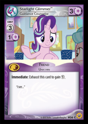 Size: 344x480 | Tagged: card, ccg, enterplay, guidance counselor, merchandise, official, pony, safe, starlight glimmer, trading card, unicorn