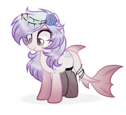 Size: 941x858 | Tagged: artist:reefermiyako, female, oc, oc:mermaid dreams, original species, pony, safe, shark pony, simple background, solo, transparent background