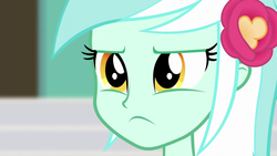 Size: 1920x1080 | Tagged: all's fair in love and friendship games, equestria girls, friendship games, frown, lyra heartstrings, safe, screencap, solo