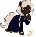 Size: 1024x1042 | Tagged: safe, artist:ladycookie, oc, oc:glitterdust, earth pony, pony, dungeons and dragons, female, mare, pen and paper rpg, robes, rpg, simple background, smiling, smirk, standing, transparent background, wizard