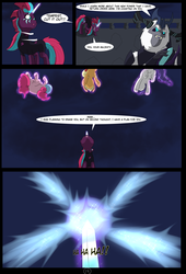 Size: 4750x7000 | Tagged: absurd res, adventure, alternate hairstyle, alternate timeline, alternate universe, alternate version, applejack, artist:chedx, bad end, comic, comic:the storm kingdom, crystal of light, fanfic, fanfic art, fantasy, fluttershy, general tempest shadow, mane six, my little pony, my little pony: the movie, pinkie pie, rainbow dash, rarity, safe, storm king, tempest shadow, the bad guy wins