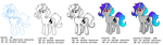 Size: 2428x676 | Tagged: safe, artist:vodkamewtwoni, oc, oc:shelly bomba, pony, commission, commission info