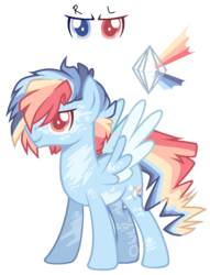 Size: 803x1050 | Tagged: artist:owl-clockwork, male, oc, oc:blue, pegasus, pony, safe, simple background, solo, stallion, transparent background