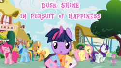 Size: 1280x720 | Tagged: safe, artist:bigsnusnu, applejack, fluttershy, pinkie pie, rainbow dash, rarity, spike, twilight sparkle, earth pony, pegasus, pony, unicorn, comic:dusk shine in pursuit of happiness, dusk shine, dusk shine gets all the mares, duskdash, duskjack, duskpie, duskshy, female, half r63 shipping, harem, male, mane seven, mane six, rarilight, rarishine, rule 63, shipping, sparity, straight, teary eyes, twidash, twijack, twilight's harem, twinkie, twishy, unicorn dusk shine