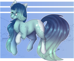 Size: 2063x1706 | Tagged: artist:dark-walkerr, earth pony, female, mare, oc, oc:turquoise, pony, safe, solo