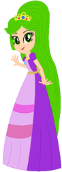 Size: 224x616 | Tagged: safe, artist:pupkinbases, artist:user15432, equestria girls, barely eqg related, base used, clothes, crossover, crown, dress, equestria girls style, equestria girls-ified, fairy tale, goddess, gown, hasbro, hasbro studios, jewelry, kid icarus, kid icarus: uprising, long hair, nintendo, palutena, princess, regalia, snow white, super smash bros.