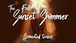 Size: 1280x720   Tagged: safe, artist:minty root, sunset shimmer, pony, mirror, teaser, thumbnail, youtube link