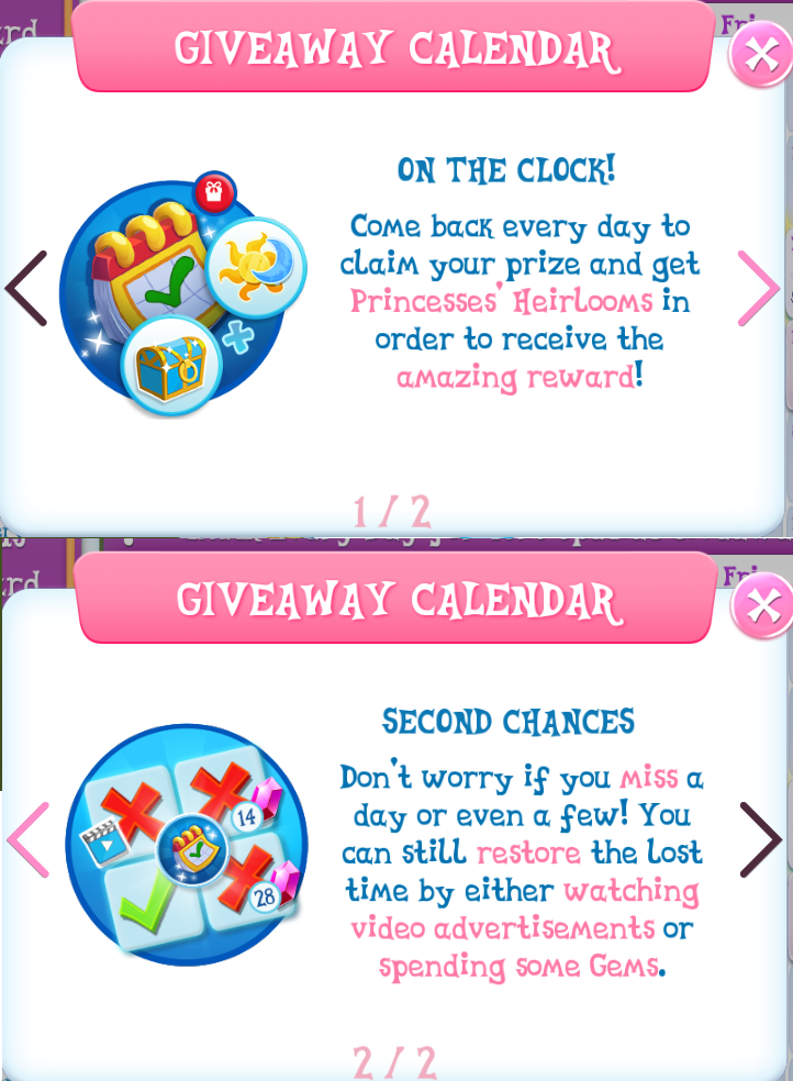 1890560 - calendar, daily login, gameloft, no pony, safe, tutorial