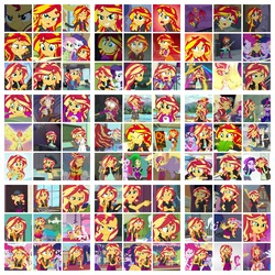 Size: 3264x3264 | Tagged: safe, screencap, applejack, fili-second, flash sentry, fluttershy, golden hazel, mane-iac, mistress marevelous, pinkie pie, princess celestia, rainbow dash, rarity, sandalwood, sci-twi, starlight glimmer, sunset shimmer, trixie, twilight sparkle, alicorn, pony, acadeca, all the world's off stage, dance magic, display of affection, driving miss shimmer, epic fails (equestria girls), eqg summertime shorts, equestria girls, equestria girls (movie), equestria girls series, forgotten friendship, friendship games, friendship through the ages, get the show on the road, good vibes, legend of everfree, mirror magic, monday blues, movie magic, my past is not today, opening night, pet project, rainbow rocks, rollercoaster of friendship, super squad goals, text support, the art of friendship, the science of magic, spoiler:eqg specials, all the world's off stage: twilight sparkle, angry, collage, cowboy hat, cropped, dance magic (song), daydream shimmer, driving miss shimmer: fluttershy, embrace the magic, eyes closed, geode of empathy, geode of sugar bombs, geode of telekinesis, guitar, hat, hug, it's not about the parakeet, legend you were meant to be, magical geodes, male, opening night: sunset shimmer, photo booth (song), power ponies, red hair, scitwilicorn, sunset satan, text support: sunset shimmer, twilight sparkle (alicorn), welcome to the show