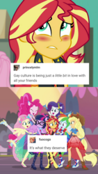 Size: 1106x1967 | Tagged: alicorn, applejack, appleshimmer, cropped, edit, equestria girls, equestria girls series, female, fluttershy, forgotten friendship, group hug, hug, humane five, humane seven, humane six, lesbian, lgbt, mane six, omniship, pinkie pie, ponied up, rainbow dash, rarity, safe, sci-twi, scitwilicorn, scitwishimmer, screencap, septet, shipping, sunsarity, sunsetdash, sunsetpie, sunset shimmer, sunset shimmer gets all the mares, sunsetsparkle, sunshyne, super ponied up, textpost, tumblr, twilight sparkle