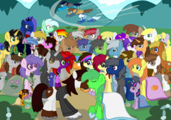 Size: 5000x3500 | Tagged: amethyst star, artist:bigmackintosh, derpy hooves, dinky hooves, hardpea, marriage, oc, oc:aine, oc:beizer curve, oc:bronyami, oc:cheesey burger, oc:chic pea, oc:din kaiser, oc:djose, oc:firenze, oc:firenze mod, oc:fluxkat, oc:fuselight, oc:gadget steelmare, oc:hardy mackintosh, oc:ironside, oc:jet, oc:kappa the kirin, oc:lavender, oc:little emerald, oc:lovely mod, oc:lovely pages, oc:music trance, oc:nodthenarcoleptic, oc:petunia, oc:rainboom, oc:rogue, oc:russel sprout, oc:seapony lyra, oc:silver blaze, oc:skurge, oc:stormshock, oc:swahili, oc:sweet peach, oc:tomas, pipsqueak, pony, princess luna, safe, sparkler, twilight sparkle, wedding