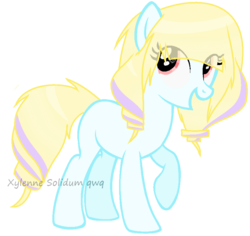 Size: 850x802 | Tagged: safe, artist:xylenneisnotamazing, oc, earth pony, pony, simple background, solo, transparent background