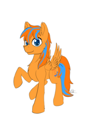 Size: 4677x6614 | Tagged: 2019 community collab, absurd res, artist:calena, cute, derpibooru community collaboration, looking at you, male, oc, oc:cold front, oc only, pegasus, pony, safe, simple background, solo, transparent background
