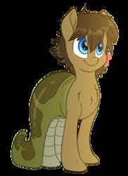 Size: 1600x2200   Tagged: safe, artist:fluffyxai, oc, oc only, oc:spirit wind, original species, pony, snake, blushing, clothes, costume, simple background, smiling, socks