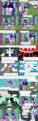 Size: 1500x4800 | Tagged: alicorn, amazed, applejack, artificial intelligence, artist:bjdazzle, backstory, best tree, black vine, both cutie marks, cave, chibi, comic, earth pony, elements of harmony, female, fluttershy, forest, fridge horror, friendship, glow, harsher in hindsight, head, headcanon, heartwarming, hologram, hooves together, implied cutie map, implied sandbar, implied starswirl, implied torture, magic, mane six, mare, pegasus, pinkie pie, pony, princess celestia, princess luna, princess of friendship, princess twilight sparkle (episode), rainbow dash, rarity, roots, safe, self ponidox, shadow play, shield, silhouette, sitting, sparkling, starry eyes, teasing, thanks, tree, treelight sparkle, tree of harmony, troll, twilight sparkle, twilight sparkle (alicorn), underground, unicorn, what lies beneath, wingding eyes