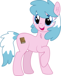 Size: 4044x5020   Tagged: safe, artist:cyanlightning, oc, oc only, oc:artabana, earth pony, pony, 2019 community collab, derpibooru community collaboration, .svg available, absurd resolution, chest fluff, ear fluff, female, mare, simple background, solo, transparent background, vector