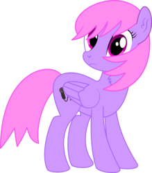 Size: 4308x4928   Tagged: safe, artist:cyanlightning, oc, oc only, oc:melody notes, pegasus, pony, 2019 community collab, derpibooru community collaboration, .svg available, absurd resolution, chest fluff, ear fluff, female, folded wings, mare, simple background, solo, transparent background, vector, wings