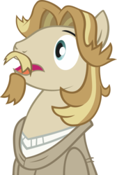 Size: 1821x2717 | Tagged: artist:breadking, bust, jeff letrotski, pony, portrait, safe, simple background, solo, transparent background, vector