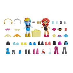 Size: 1000x1000   Tagged: safe, rainbow dash, sunset shimmer, equestria girls, equestria girls series, doll, equestria girls minis, fashion squad, female, irl, photo, toy